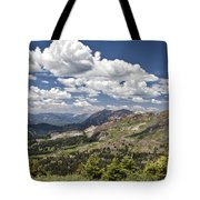 Clouds Over Crested Butte Tote Bag
