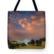Clouds Over East Bay Hills Tote Bag