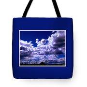 Clouds Over Gavilan Peak Tote Bag