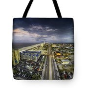 Clouds Over Gulf Shores Tote Bag