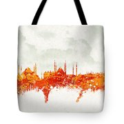 Clouds Over Istanbul Turkey Tote Bag by Aged Pixel