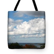 Clouds Over Lake Michigan Tote Bag