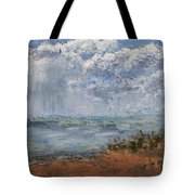Clouds Over Lake Michigan Tote Bag