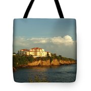 Clouds Over Library Tote Bag
