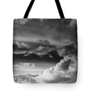 Clouds Over Loch Laich Tote Bag