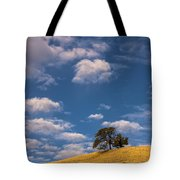 Clouds Over Lone Tree Tote Bag