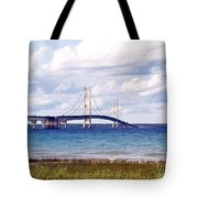 Clouds Over Mackinaw Tote Bag