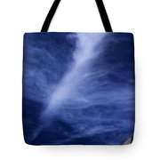 Clouds Over Middle Palisades Glacier California Tote Bag