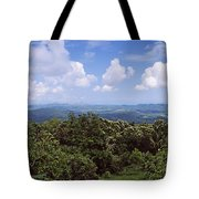 Clouds Over Mountains, Flores Island Tote Bag