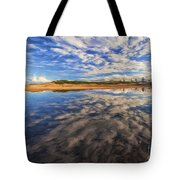 Clouds Over Narrabeen Lake Tote Bag