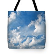 Clouds Over New Mexico Tote Bag