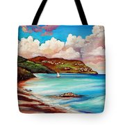 Clouds Over Paradise Tote Bag