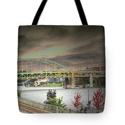 Clouds Over Pittsburgh Tote Bag