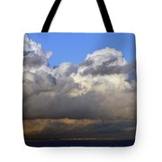 Clouds Over Portsmouth Tote Bag