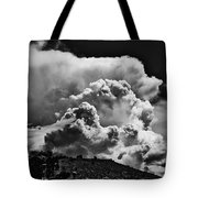 Clouds Over Santa Fe Tote Bag