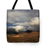 Clouds Over The Organ Mountains Tote Bag
