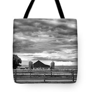 Clouds Over The Upper Midwest Tote Bag