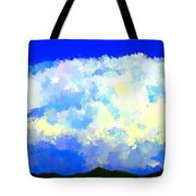 Clouds Overhead Tote Bag