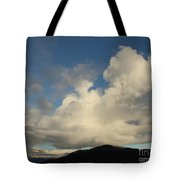 Clouds With Arms Tote Bag