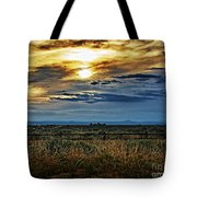 Cloudy Afternoon Tote Bag