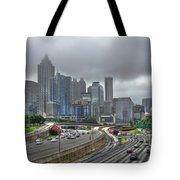 Cloudy Atlanta Capital Of The South Tote Bag