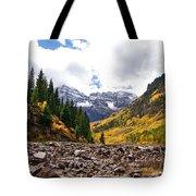 Cloudy Bells Tote Bag