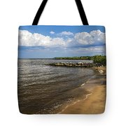 Cloudy Ceiling Tote Bag