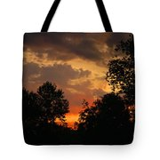 Cloudy Dawn Tote Bag