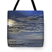 Cloudy Day At The Beach Tote Bag