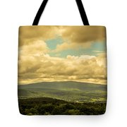 Cloudy Day In New Hampshire Tote Bag