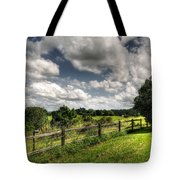 Cloudy Day In The Country Tote Bag