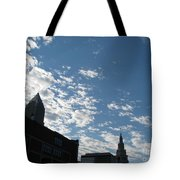 Cloudy In Cleveland Tote Bag
