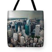 cloudy Manhattan Tote Bag