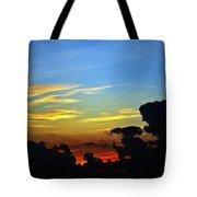 Cloudy Morning In Fort Lauderadale Tote Bag