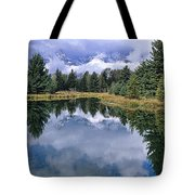 Cloudy Reflection Tote Bag