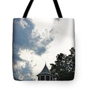Cloudy Steeple Tote Bag