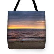 Cloudy Sunrise On Nauset Beach Tote Bag