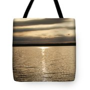 Cloudy Sunrise Tote Bag