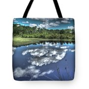 Cloudy Waters Tote Bag