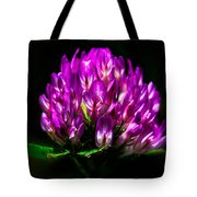 Clover Flower Tote Bag