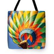 Clovis Hot Air Balloon Fest 5 Tote Bag