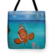 Clown Fish And Friends Tote Bag