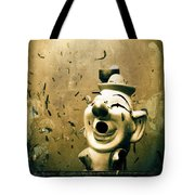 Clown Games  Tote Bag by Colleen Kammerer