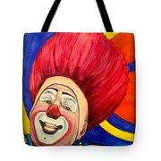 Watercolor Clown #17 Mark Carfora Tote Bag