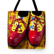 Clown Shoes And Balls Tote Bag