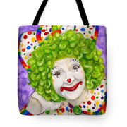 Watercolor Clown #12 Sue Marranconi Tote Bag