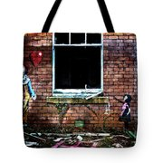 Clown With A Heart Tote Bag