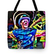 Clowned Blue Tote Bag