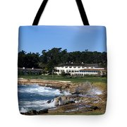 Clubhouse At Pebble Beach Tote Bag