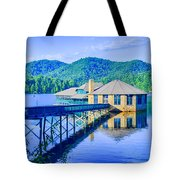 Clubhouse On Lake Tahoma Tote Bag